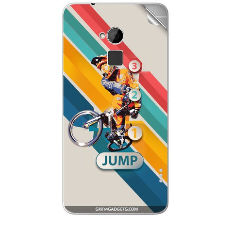 1 2 3 Jump For HTC T6 Skin