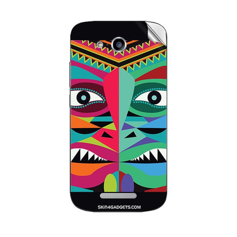 Tribal Face For HUAWEI 199 Skin
