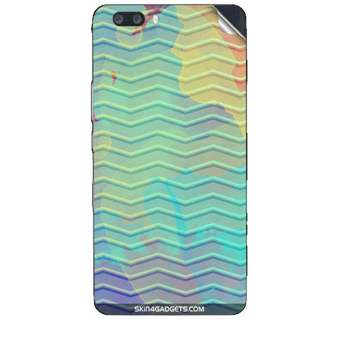 Colourful Waves For HUAWEI HONOR 6 X Skin