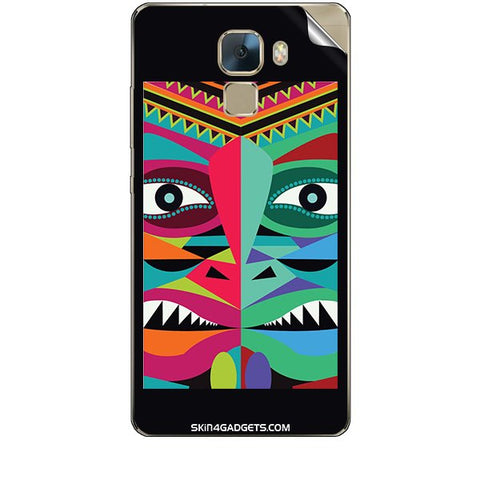 Tribal Face For HUAWEI HONOR 7 Skin