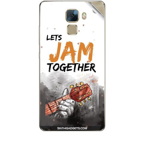 Lets Jam Together For HUAWEI HONOR 7 Skin