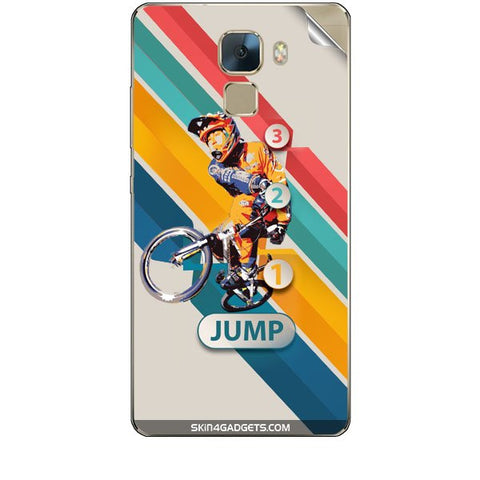 1 2 3 Jump For HUAWEI HONOR 7 Skin