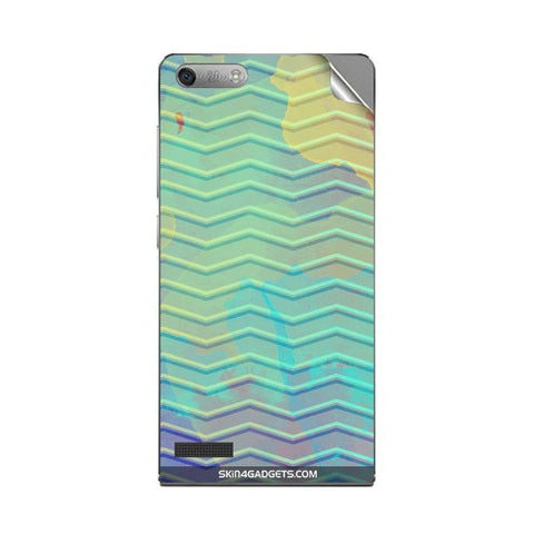 Colourful Waves For HUAWEI ASCEND G6 Skin