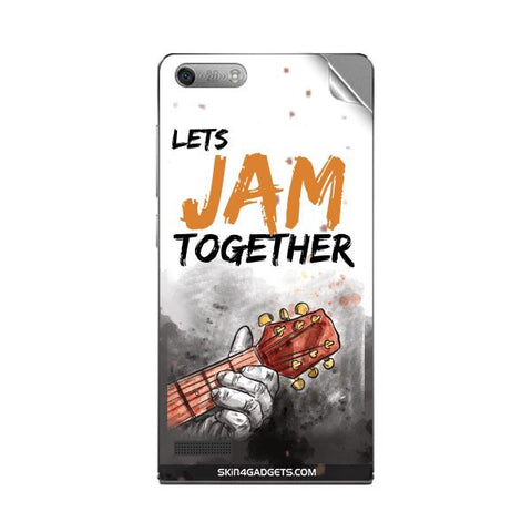 Lets Jam Together For HUAWEI ASCEND G6 Skin