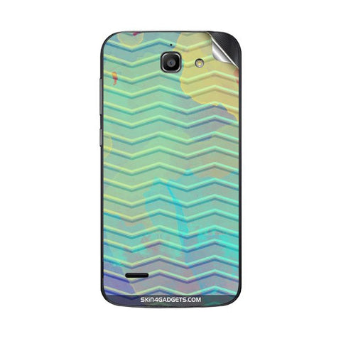Colourful Waves For HUAWEI G730 Skin