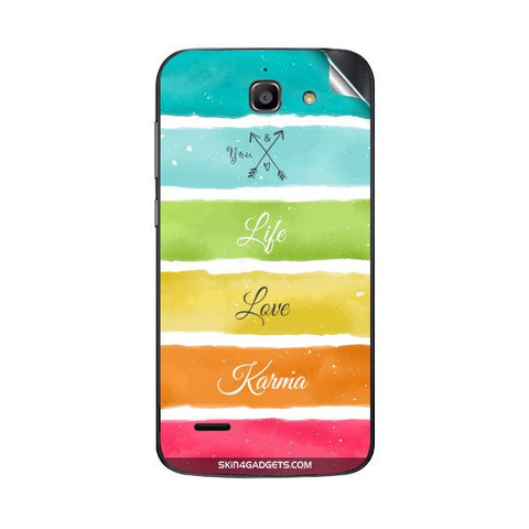 Lets Love Life For HUAWEI G730 Skin