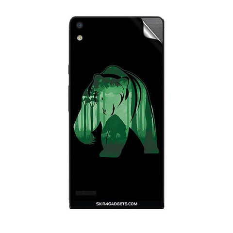 Bear For HUAWEI P6 Skin