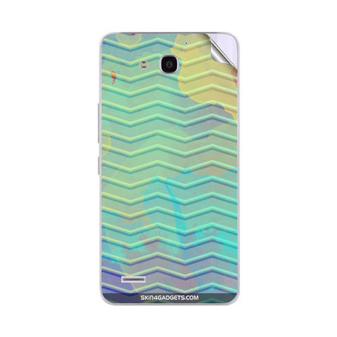 Colourful Waves For HUAWEI RONGYAO3X G750 T00 Skin