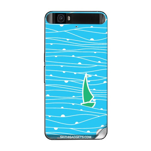 Boat Pattern For GOOGLE NEXUS 6P Skin