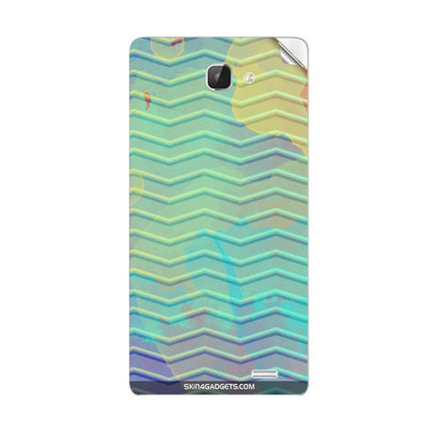 Colourful Waves For INTEX AQUA I5 Skin