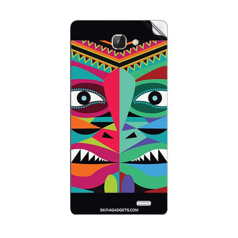 Tribal Face For INTEX AQUA I5 Skin