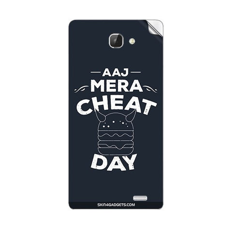 Aaj Mera Cheat Day For INTEX AQUA I5 Skin