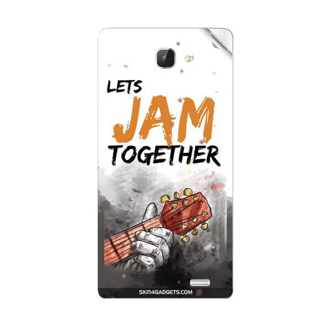 Lets Jam Together For INTEX AQUA I5 Skin