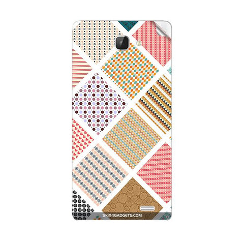 Varied Pattern For INTEX AQUA I5 Skin