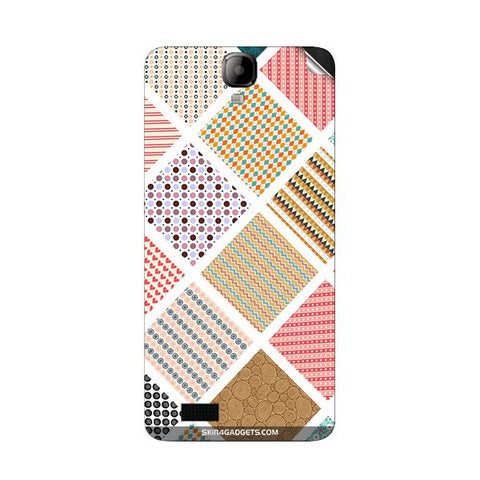 Varied Pattern For INTEX AQUA AMAZE Skin
