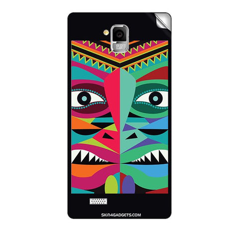 Tribal Face For INTEX AQUA I5 MINI Skin