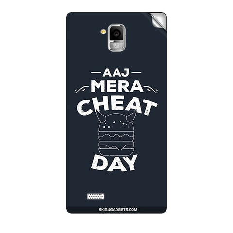 Aaj Mera Cheat Day For INTEX AQUA I5 MINI Skin