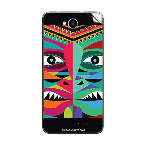 Tribal Face For INTEX AQUA-LIFE-III Skin