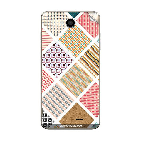 Varied Pattern For INTEX AQUA-LIFE-III Skin