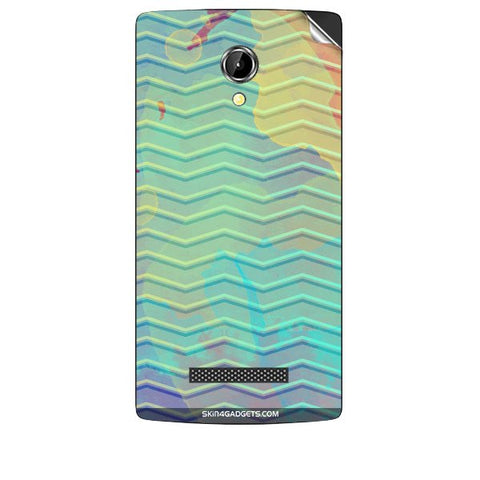 Colourful Waves For INTEX AQUA N8 Skin