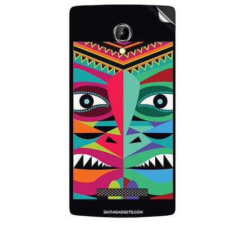 Tribal Face For INTEX AQUA N8 Skin