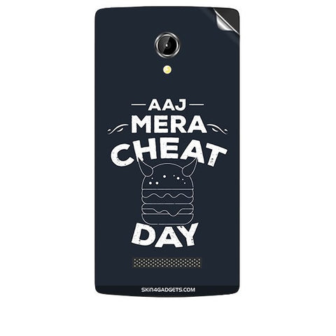 Aaj Mera Cheat Day For INTEX AQUA N8 Skin