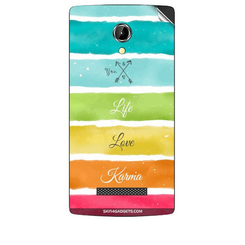 Lets Love Life For INTEX AQUA N8 Skin