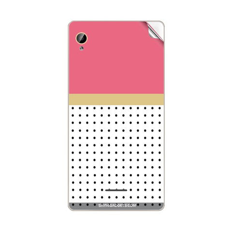 Dots For INTEX AQUA POWER HD Skin
