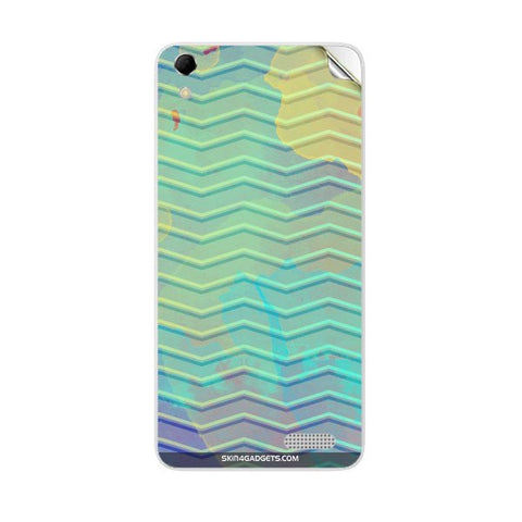 Colourful Waves For INTEX AQUA Q3 Skin