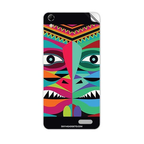 Tribal Face For INTEX AQUA Q3 Skin