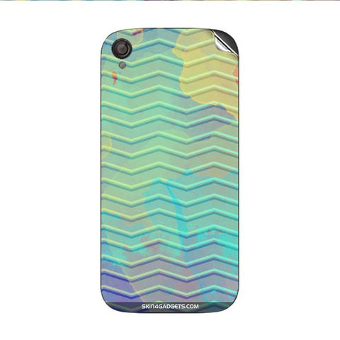 Colourful Waves For INTEX AQUA SLICE Skin