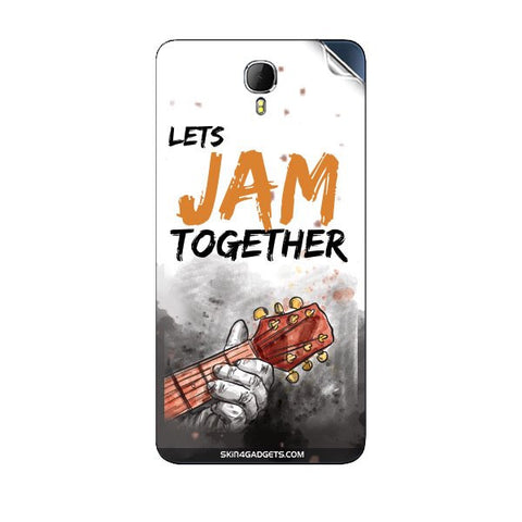 Lets Jam Together For INTEX AQUA STAR II Skin