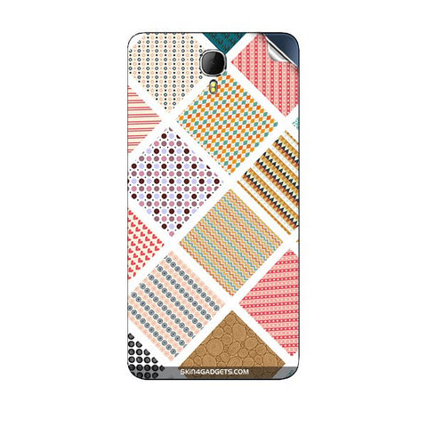 Varied Pattern For INTEX AQUA STAR II Skin