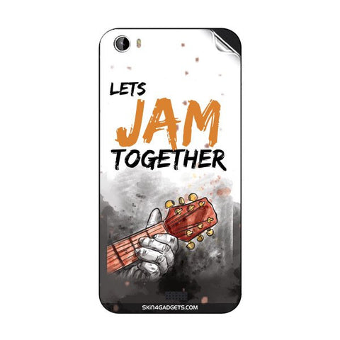 Lets Jam Together For INTEX AQUA TURBO 4G Skin