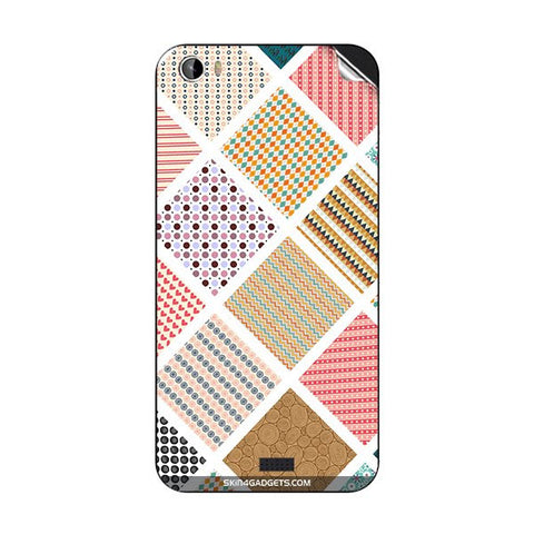 Varied Pattern For INTEX AQUA TURBO 4G Skin