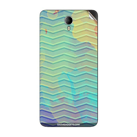 Colourful Waves For INTEX CLOUD M6 Skin