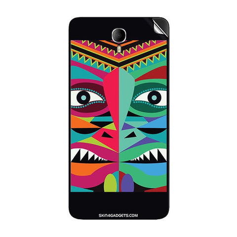Tribal Face For INTEX CLOUD M6 Skin