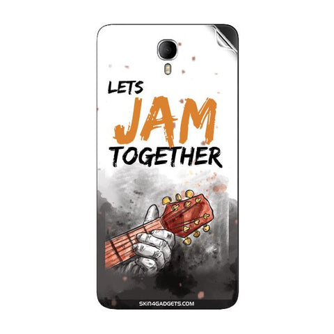 Lets Jam Together For INTEX CLOUD M6 Skin
