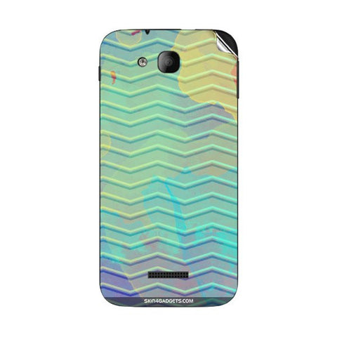 Colourful Waves For INTEX CLOUD Y12 Skin