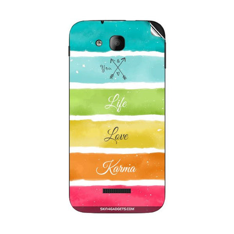 Lets Love Life For INTEX CLOUD Y12 Skin