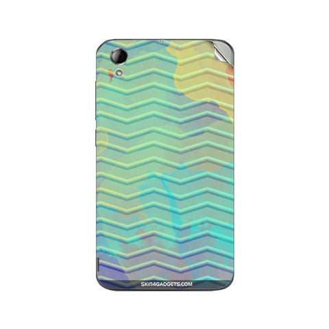 Colourful Waves For KARBONN TITANIUM MACHINE Skin