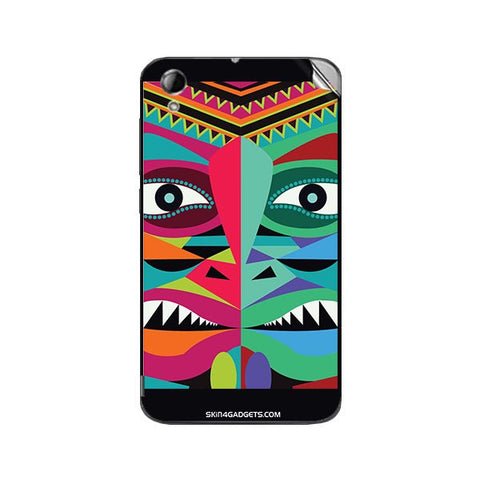 Tribal Face For KARBONN TITANIUM MACHINE Skin