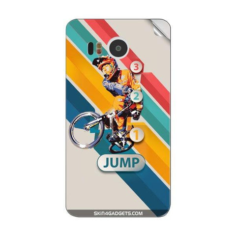 1 2 3 Jump For GOOGLE NEXUS 5X Skin