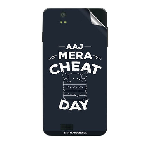 Aaj Mera Cheat Day For LAVA IRIS X5 Skin