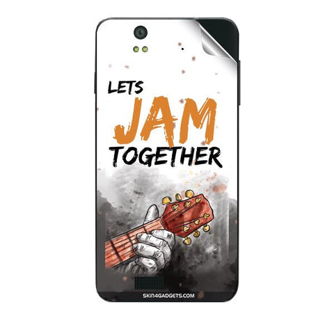 Lets Jam Together For LAVA IRIS X5 Skin