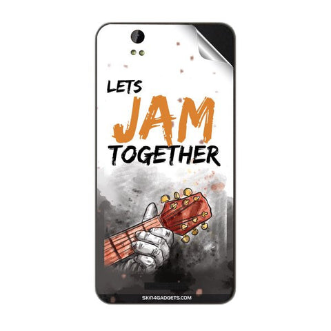 Lets Jam Together For LAVA IRIS X1 GRAND Skin