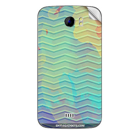 Colourful Waves For MICROMAX CANVAS 2 (A110) Skin