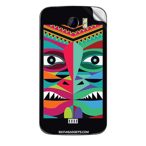Tribal Face For MICROMAX CANVAS 2 (A110) Skin