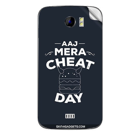 Aaj Mera Cheat Day For MICROMAX CANVAS 2 (A110) Skin