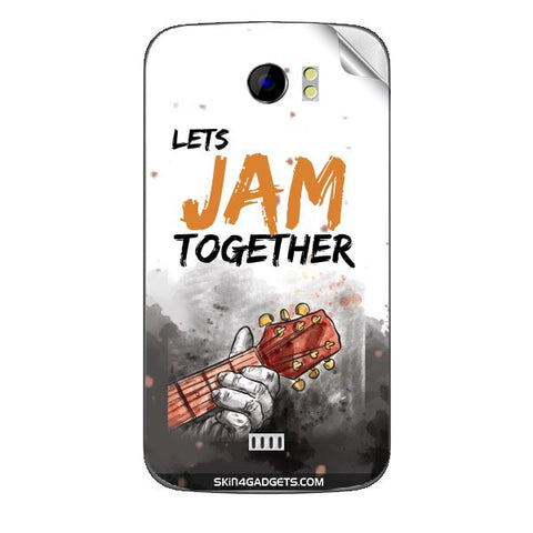 Lets Jam Together For MICROMAX CANVAS 2 (A110) Skin